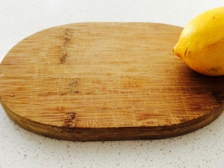 naturally clean wooden chopping boards