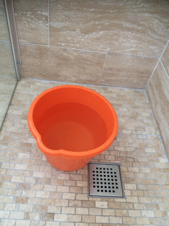 Water Saving Bucket Challenge Green Bee